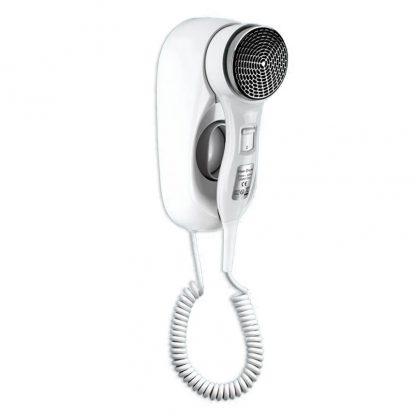 Фен настенный для волос Ksitex F-1400 WC с насадкой для увеличения скорости