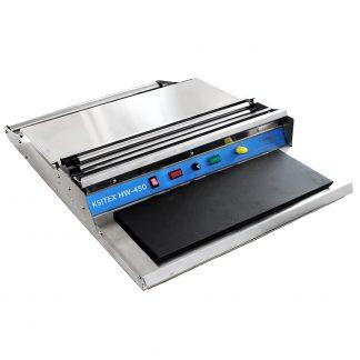 Упаковочный горячий стол Ksitex HW-450 из нержавеющей стали для пищепрома с тефлоновым покрытием