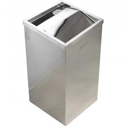 Офисный контейнер для мусора с качающейся крышкой Ksitex GB-32